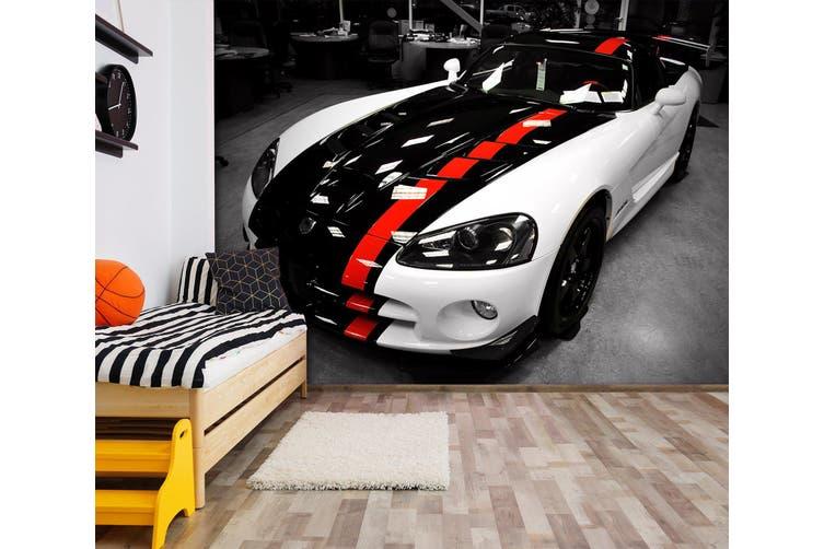 3D Dodge Viper 215 Vehicle Wall Murals Wallpaper Murals Self-adhesive Vinyl, XXXXL 520cm x 290cm (WxH)(205''x114'')