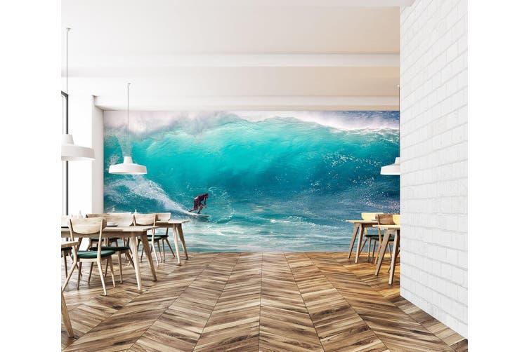3D Man Surfing 213 Vehicle Wall Murals Wallpaper Murals Self-adhesive Vinyl, XXXL 416cm x 254cm (WxH)(164''x100'')