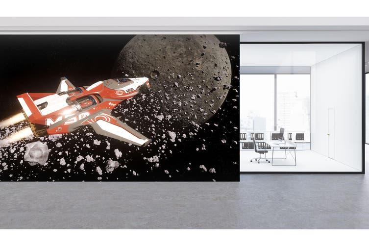 3D Spaceship Planet 208 Vehicle Wall Murals Wallpaper Murals Self-adhesive Vinyl, XXXXL 520cm x 290cm (WxH)(205''x114'')