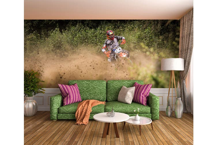 3D Mud Racing 188 Vehicle Wall Murals Wallpaper Murals Woven paper (need glue), XXXXL 520cm x 290cm (WxH)(205''x114'')