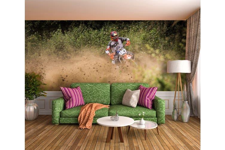 3D Mud Racing 188 Vehicle Wall Murals Wallpaper Murals Self-adhesive Vinyl, XXXL 416cm x 254cm (WxH)(164''x100'')