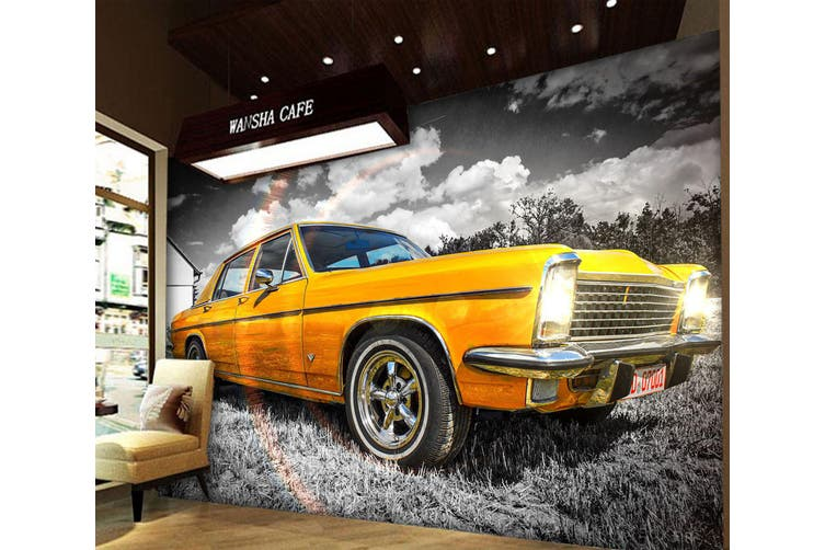 3D Rainbow Car 182 Vehicle Wall Murals Wallpaper Murals Self-adhesive Vinyl, XXXL 416cm x 254cm (WxH)(164''x100'')