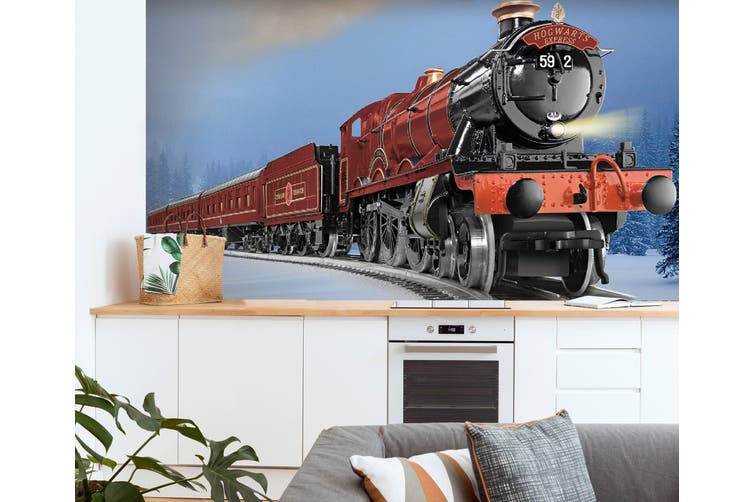 3D Red Train 177 Vehicle Wall Murals Wallpaper Murals Woven paper (need glue), XXXL 416cm x 254cm (WxH)(164''x100'')