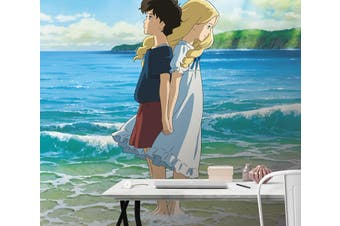 3D When Marnie Was There 107 Anime Wall Murals Woven paper (need glue), XL 208cm x 146cm (HxW)(82''x58'')