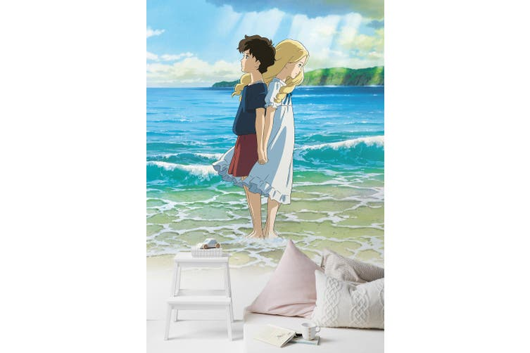 3D When Marnie Was There 107 Anime Wall Murals Woven paper (need glue), XXXXL 520cm x 290cm (HxW)(205''x114'')