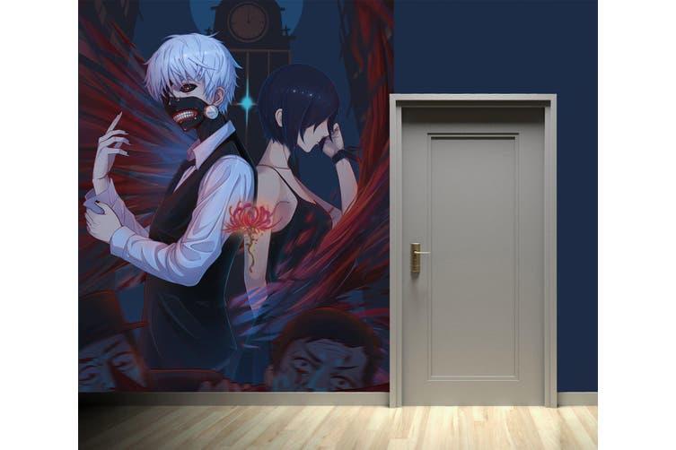 3D Tokyo Ghoul 106 Anime Wall Murals Woven paper (need glue), XL 208cm x 146cm (HxW)(82''x58'')