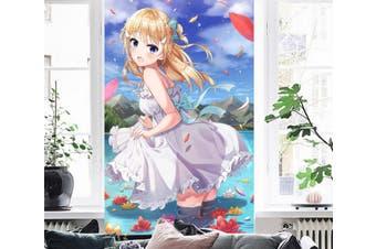 3D Girl 105 Anime Wall Murals Self-adhesive Vinyl, XXXXL 520cm x 290cm (HxW)(205''x114'')
