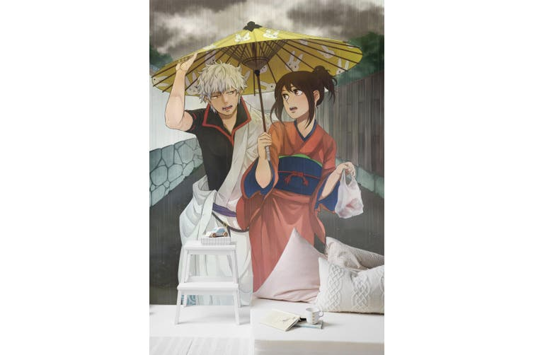 3D Gintama 102 Anime Wall Murals Woven paper (need glue), XXXXL 520cm x 290cm (HxW)(205''x114'')
