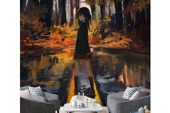 3D Cinderella Girls 099 Anime Wall Murals Woven paper (need glue), XXXXL 520cm x 290cm (HxW)(205''x114'')