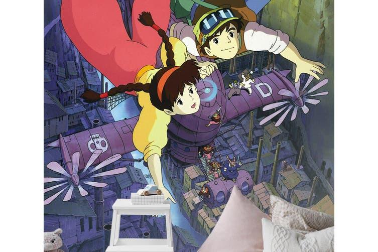 3D Castle In The Sky 098 Anime Wall Murals Woven paper (need glue), XXXXL 520cm x 290cm (HxW)(205''x114'')