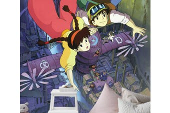 3D Castle In The Sky 098 Anime Wall Murals Self-adhesive Vinyl, XXXL 416cm x 254cm (HxW)(164''x100'')