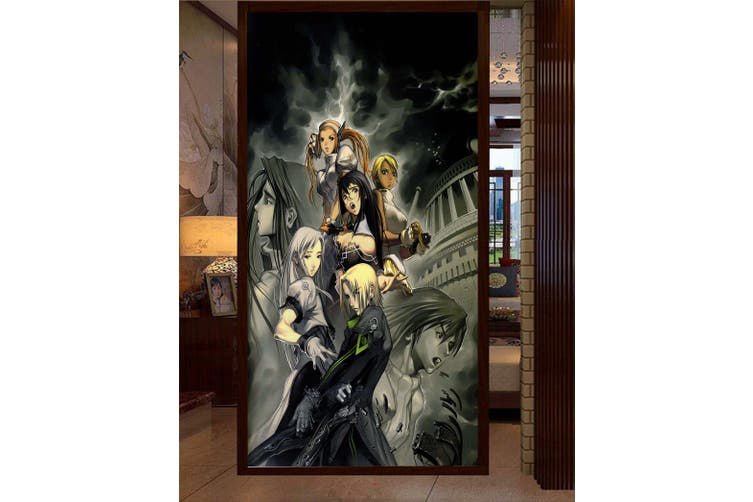 3D Night Arhat 96 Anime Wall Murals Self-adhesive Vinyl, XXXL 416cm x 254cm (HxW)(164''x100'')