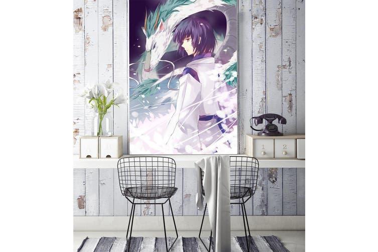 3D Magic Dragon 92 Anime Wall Murals Self-adhesive Vinyl, XL 208cm x 146cm (HxW)(82''x58'')