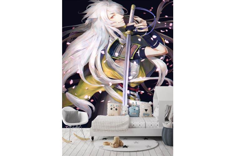 3D Petal Dance Sword 87 Anime Wall Murals Woven paper (need glue), XXL 312cm x 219cm (HxW)(123''x87'')