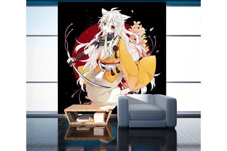 3D Long Sword 86 Anime Wall Murals Self-adhesive Vinyl, XXXL 416cm x 254cm (HxW)(164''x100'')