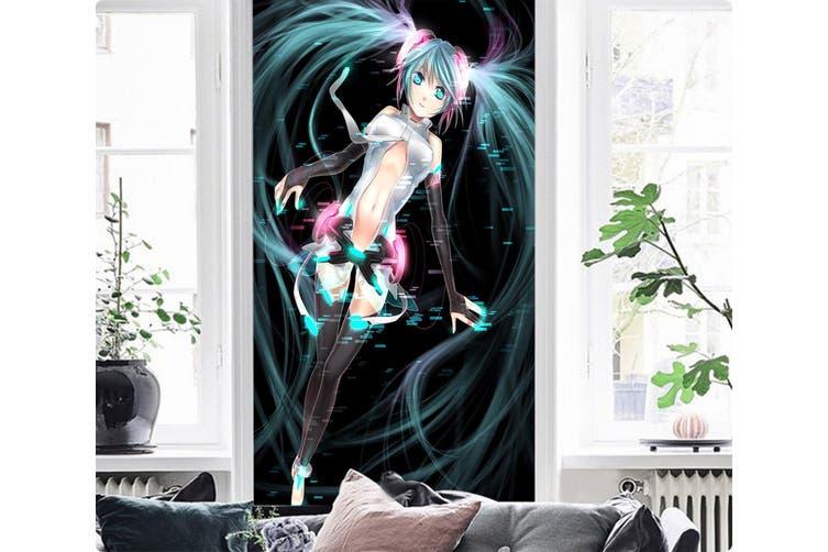 3D Hatsune Magic 82 Anime Wall Murals Woven paper (need glue), XXXXL 520cm x 290cm (HxW)(205''x114'')
