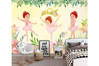 3D Child Dance 1239 Wall Murals Self-adhesive Vinyl Wallpaper Murals