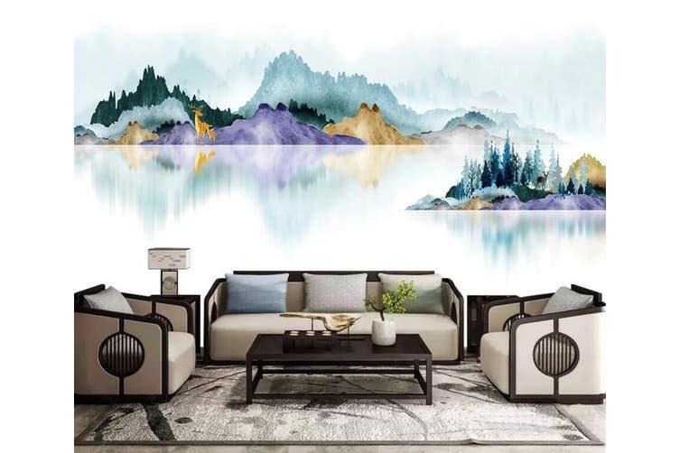 3D Colored Landscape 969 Wall Murals Self-adhesive Vinyl, XXXL 416cm x 254cm (WxH)(164''x100'')