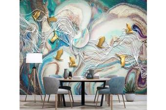 3D Color Graffiti 964 Wall Murals Woven paper (need glue), XL 208cm x 146cm (WxH)(82''x58'')