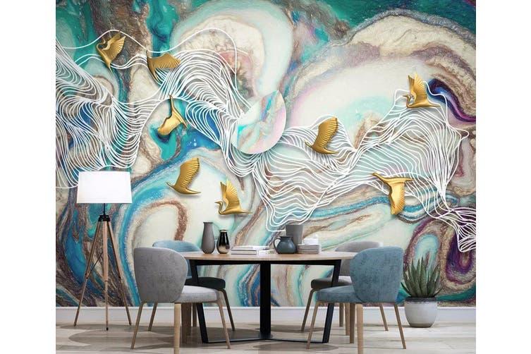 3D Color Graffiti 964 Wall Murals Self-adhesive Vinyl, XXL 312cm x 219cm (WxH)(123''x87'')