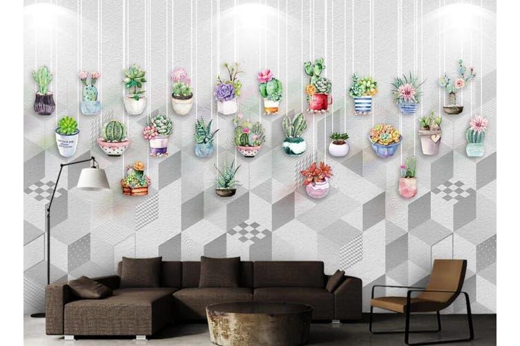 3D Color Plant 962 Wall Murals Self-adhesive Vinyl, XXXXL 520cm x 290cm (WxH)(205''x114'')