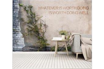3D Wall Grass 961 Wall Murals Woven paper (need glue), XL 208cm x 146cm (WxH)(82''x58'')