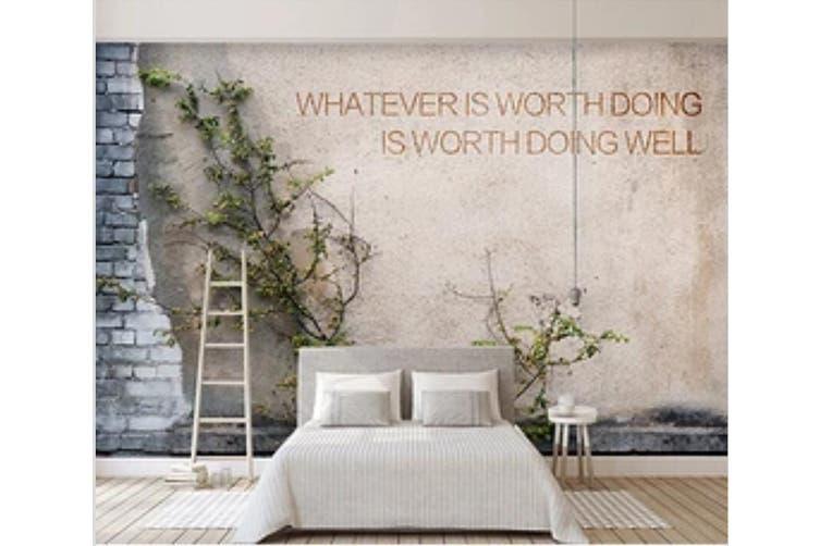 3D Wall Grass 961 Wall Murals Woven paper (need glue), XXXXL 520cm x 290cm (WxH)(205''x114'')