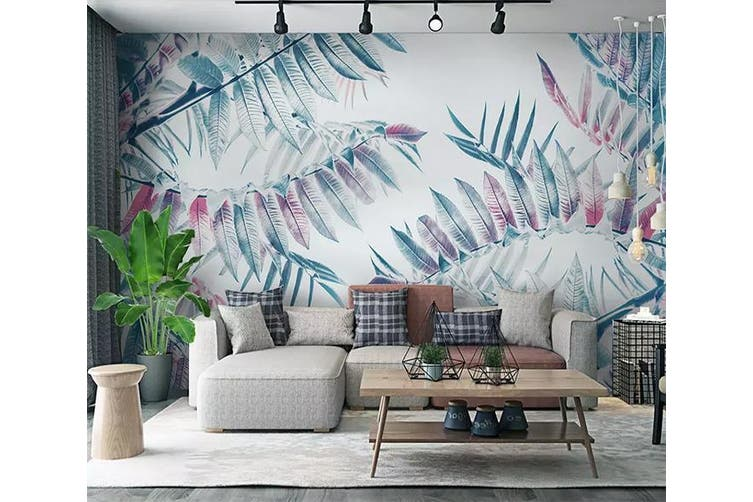 3D Colored Leaves 954 Wall Murals Self-adhesive Vinyl, XXXL 416cm x 254cm (WxH)(164''x100'')