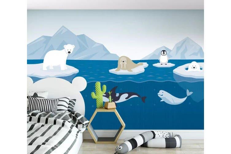 3D Sea Shark 952 Wall Murals Self-adhesive Vinyl, XXXXL 520cm x 290cm (WxH)(205''x114'')