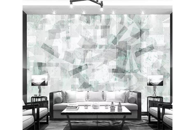3D Geometric Patterns 944 Wall Murals Woven paper (need glue), XL 208cm x 146cm (WxH)(82''x58'')