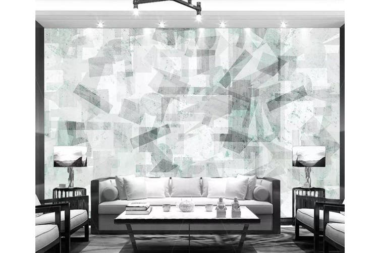 3D Geometric Patterns 944 Wall Murals Woven paper (need glue), XXXXL 520cm x 290cm (WxH)(205''x114'')