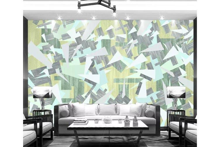 3D Geometric Patterns 943 Wall Murals Woven paper (need glue), XL 208cm x 146cm (WxH)(82''x58'')