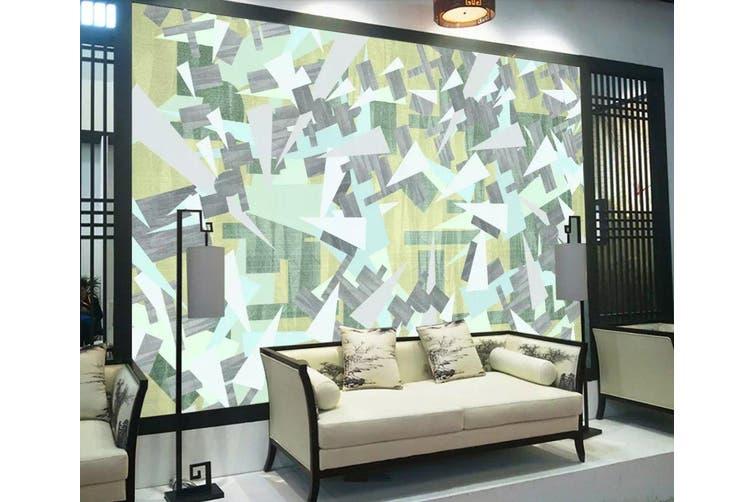 3D Geometric Patterns 943 Wall Murals Woven paper (need glue), XXXXL 520cm x 290cm (WxH)(205''x114'')