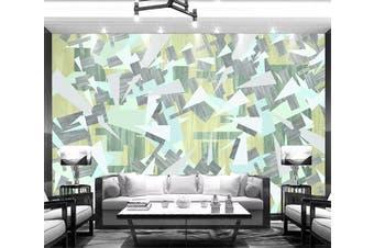 3D Geometric Patterns 943 Wall Murals Self-adhesive Vinyl, XL 208cm x 146cm (WxH)(82''x58'')