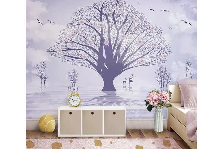 3D Sika Deer 940 Wall Murals Woven paper (need glue), XXL 312cm x 219cm (WxH)(123''x87'')