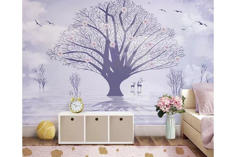3D Sika Deer 940 Wall Murals Woven paper (need glue), XXXXL 520cm x 290cm (WxH)(205''x114'')