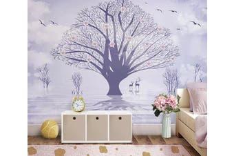 3D Sika Deer 940 Wall Murals Self-adhesive Vinyl, XXL 312cm x 219cm (WxH)(123''x87'')