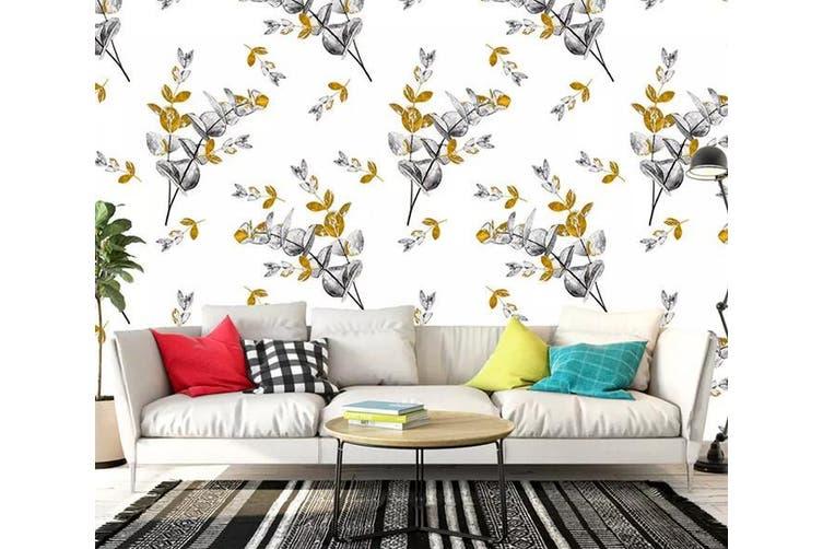 3D Flower 925 Wall Murals Woven paper (need glue), XL 208cm x 146cm (WxH)(82''x58'')