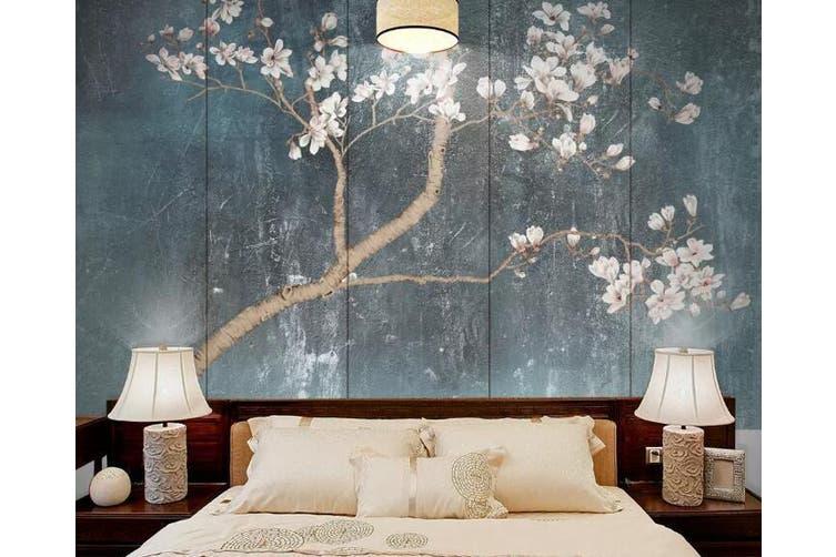 3D Branch Flower 916 Wall Murals Self-adhesive Vinyl, XL 208cm x 146cm (WxH)(82''x58'')