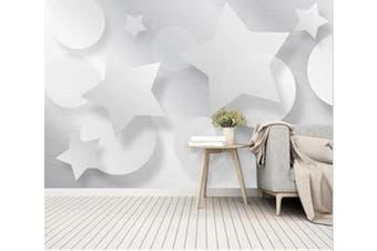 3D Pattern Patchwork 911 Wall Murals Woven paper (need glue), XL 208cm x 146cm (WxH)(82''x58'')