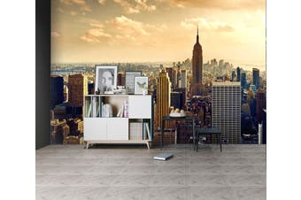 3D Dusk New York 135 Wall Murals Self-adhesive Vinyl Wallpaper Murals