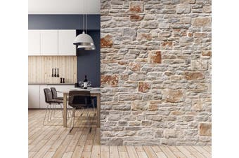 3D Brick Wall 022 Wall Murals Self-adhesive Vinyl Wallpaper Murals