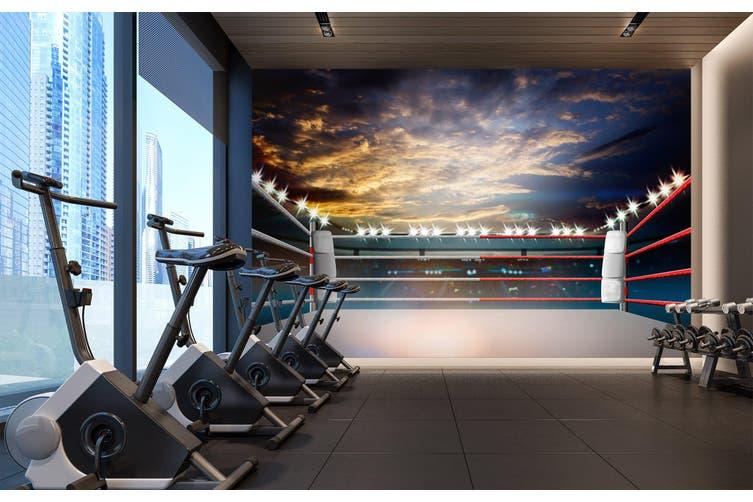 3D Sunset City 101 Wall Murals Woven paper (need glue), XXXL 416cm x 254cm (WxH)(164''x100'')