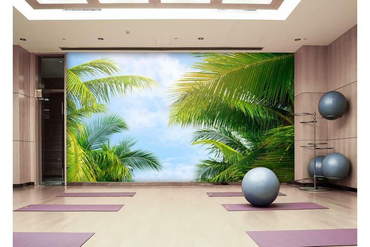 3D Leaf Sky 083 Wall Murals Self-adhesive Vinyl, XXXXL 520cm x 290cm (WxH)(205''x114'')