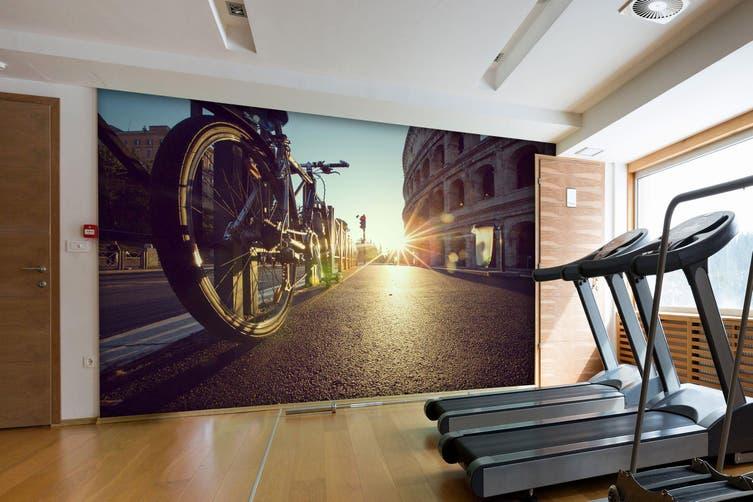 3D Sunset Bike 082 Wall Murals Self-adhesive Vinyl, XXXL 416cm x 254cm (WxH)(164''x100'')