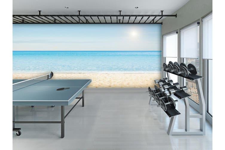 3D Beach Wave 062 Wall Murals Woven paper (need glue), XXXXL 520cm x 290cm (WxH)(205''x114'')