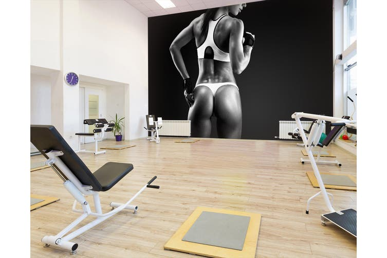 3D Perfect Body 039 Wall Murals Woven paper (need glue), XXL 312cm x 219cm (WxH)(123''x87'')