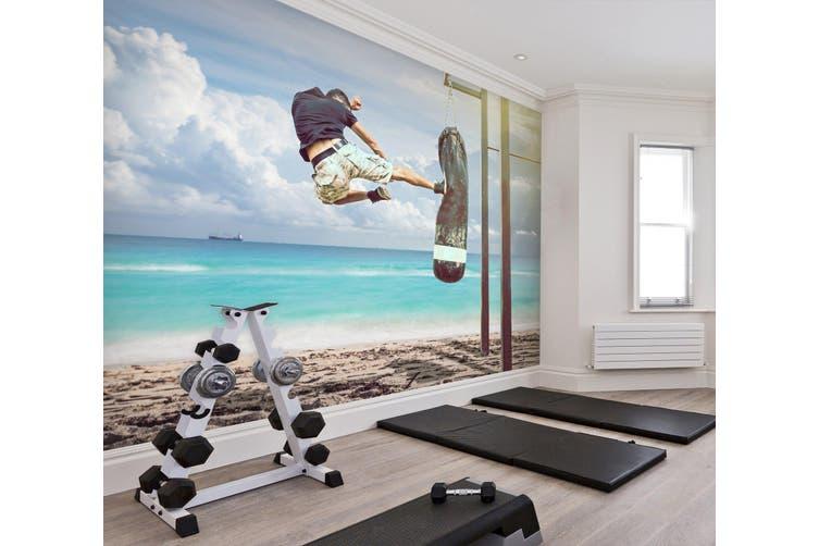 3D Skateboarding 037 Wall Murals Woven paper (need glue), XXL 312cm x 219cm (WxH)(123''x87'')