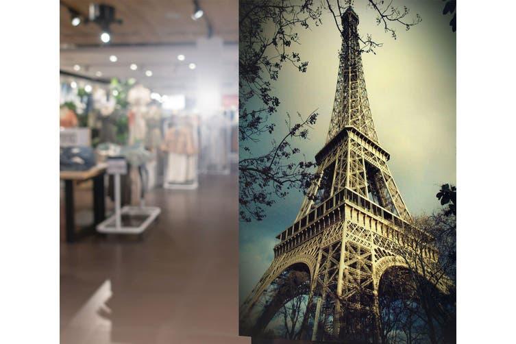 "3D Eiffel Tower 07 Wall Murals Self-adhesive Vinyl, XL 208cm x 146cm (HxW)(82""X58"")"