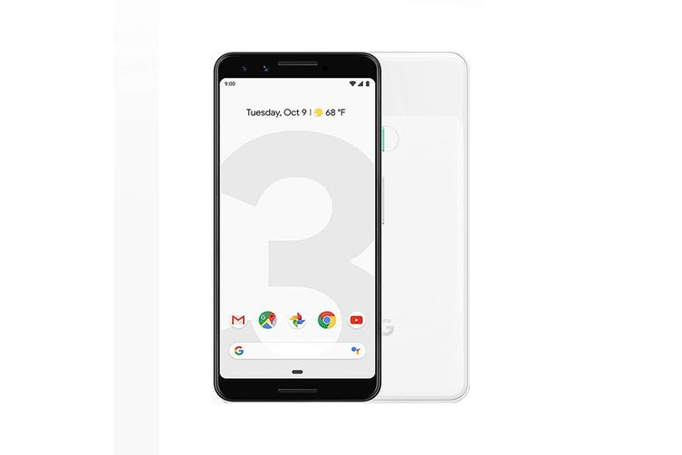 Google Pixel 3 64GB Clearly White - Refurbished Good Grade